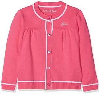 GUESS Girls' Maglia Paricollo Ls Rn Cardi Sweater Sports Hoodie,(Size: 2)