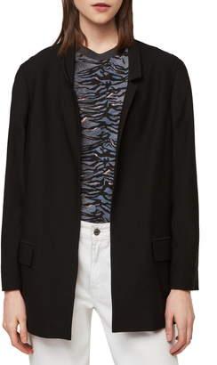 AllSaints Aida Stretch Jersey Blazer