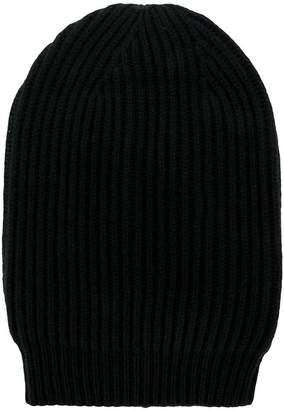 Rick Owens ribbed knit beanie