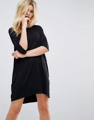 Asos Oversize T-Shirt Dress with Raglan Sleeve