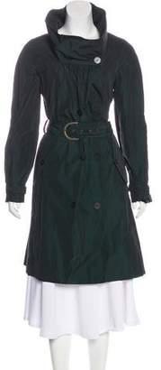 Stella McCartney Knee-Length Taffeta Coat