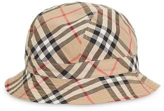 f5f8e375 Burberry Reversible Vintage Check Bucket Hat