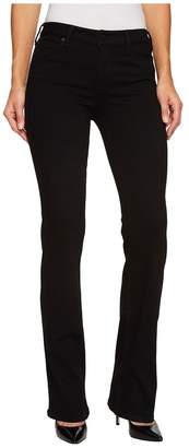 Liverpool Lucy Bootcut Jeans in the Perfect Black Denim in Black Rinse Women's Jeans
