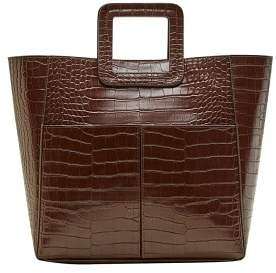 Violeta BY MANGO Faux-leather tote bag