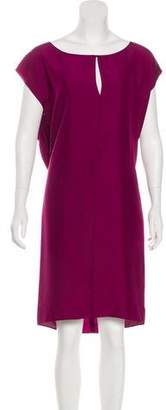 Saint Laurent Silk Shift Dress