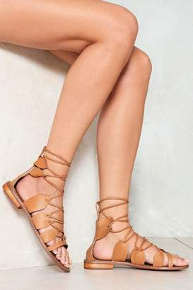 Nasty Gal String Together Strappy Sandal