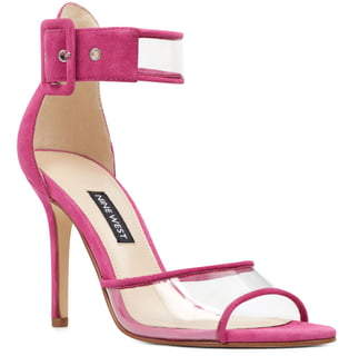 Nine West Mila Clear Strap Sandal