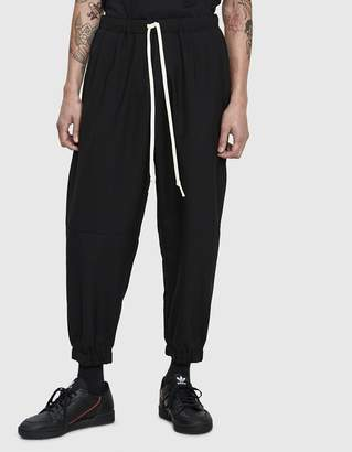 Dima Leu Overdyed Jersey Pant in Black