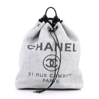 Chanel Cloth backpack