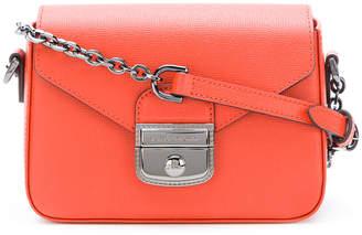 Longchamp push lock shoulder bag