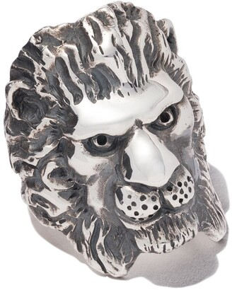 The Great Frog lion ring