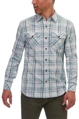 Basin and Range Kings Peak Plaid Long-Sleeve Shirt - Men's