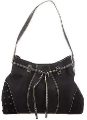 Tod's Leather Shoulder Bag Black Leather Shoulder Bag