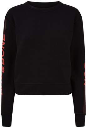 Rag & Bone London Slogan Sweatshirt