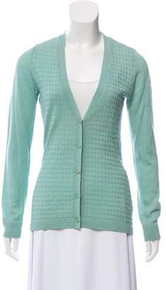 Lela Rose Wool Knit Cardigan