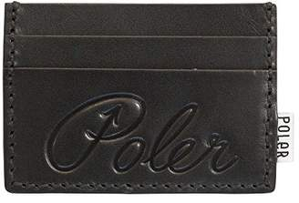 Poler Men's Cardclops Leather Wallet