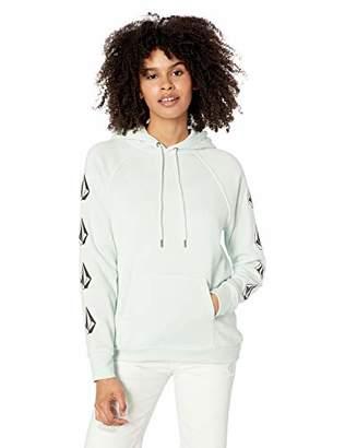 Volcom Junior's Women's Deadly Stones Pullover Hooded Sweatshirt, Extra