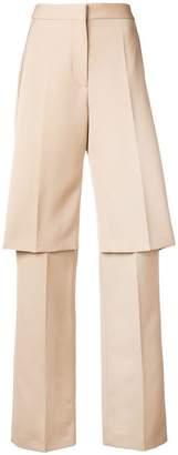 Stella McCartney layered tailored trousers