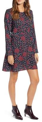 Halogen Floral Shift Dress