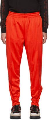 adidas by Alexander Wang Red Track Pants