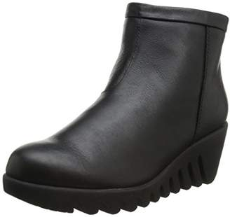 Cougar Women's Bang Back Zip Wedge Boot