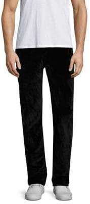 John Varvatos Motor City Slim-Fit Velvet Cotton Pants