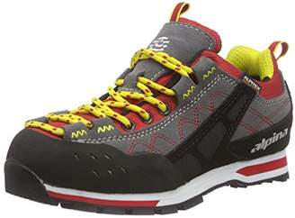 Alpina Unisex Adults' 680273 Low Trekking and Walking Shoes Red Size: