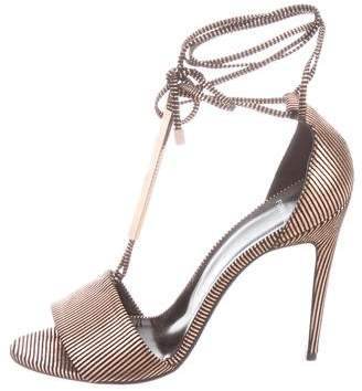 Pierre Hardy Metallic Stiletto Heels