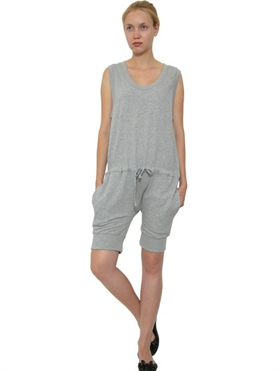 Tsumori Chisato Cotton Fleece Short Jumpsuit