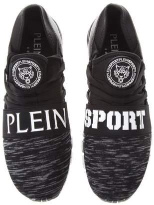 Philipp Plein Tropedo 78 Neoprene & Faux Leather Runner