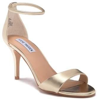 7ccfeca5a30 Steve Madden Gold Ankle Strap Women s Sandals - ShopStyle