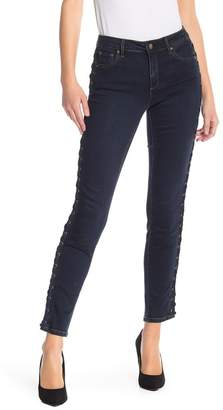 Tractr Grommet Side Ankle Jeans