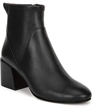 Via Spiga Diana Stretch Leather Booties