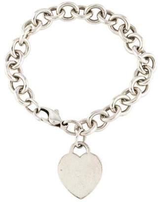 Tiffany & Co. Heart Tag Charm Bracelet silver Heart Tag Charm Bracelet