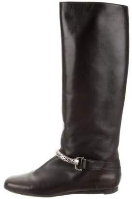Botkier Embellished Knee-High Boots