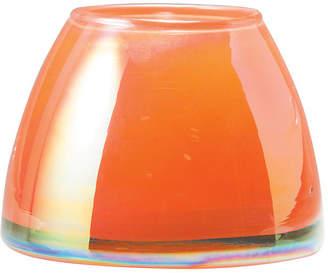 Vietri Italian Glass Votive - Orange