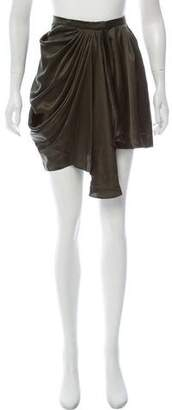 Balenciaga Silk Knee-Length Skirt