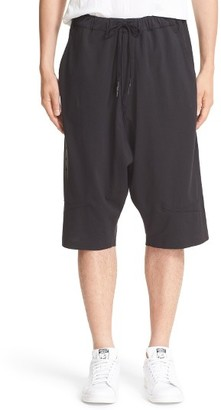 Men's Y-3 Skylight Grommet Vented Shorts $190 thestylecure.com