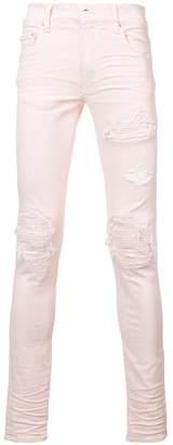Amiri ripped biker jeans