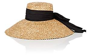 Eugenia Kim Women's Mirabel Satin-Bow Straw Hat - Natural