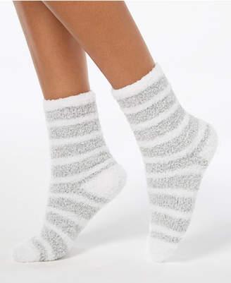 Charter Club Marled Stripe Fuzzy Cozy Socks, Created for Macy's