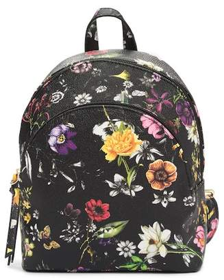 T-Shirt & Jeans Charlotte Double Zip Floral Backpack