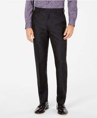 Bar III Men's Slim-Fit Brocade Dress Pants