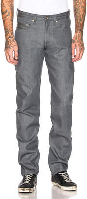 Naked & Famous Denim Weird Guy Jeans in Grey Selvedge | FWRD