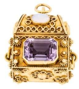 18K Treasure Chest Pendant