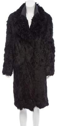 Tom Ford Long Shearling Coat