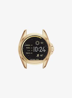 d6c2aadd6ac0 Michael Kors Gold Tone Bradshaw Watch - ShopStyle