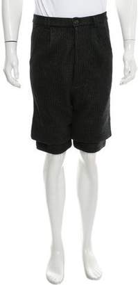 Song For The Mute Paper Flat Front Shorts w/ Tags