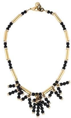 Lulu Frost Embellished Fringe Bead Necklace