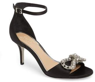 Badgley Mischka Miguela Crystal Bow Sandal (Women)